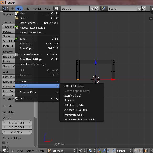 [Débutant] [Blender 2.6 et 2.7] Présentation et découverte de Blender 2.61 Blende62