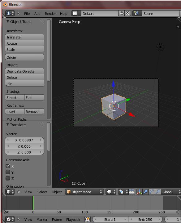 [Débutant] [Blender 2.6 et 2.7] Les vues avec Blender 2.63 Camera10