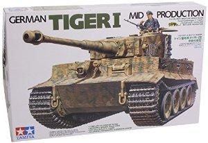 tigre I milieu de production 1/35 51xiei10