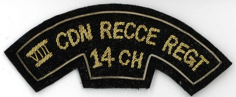 Is this a repro VIII RECCE Cloth Title?? _5710
