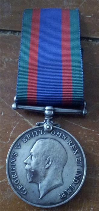 My little orphan BWM. 69th Canadian Infantry. Medal_10