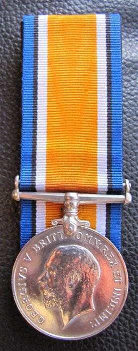 My little orphan BWM. 69th Canadian Infantry. Medal_14