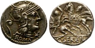 Nouveau(x) denier(s) de la gens Servilia _127_s11