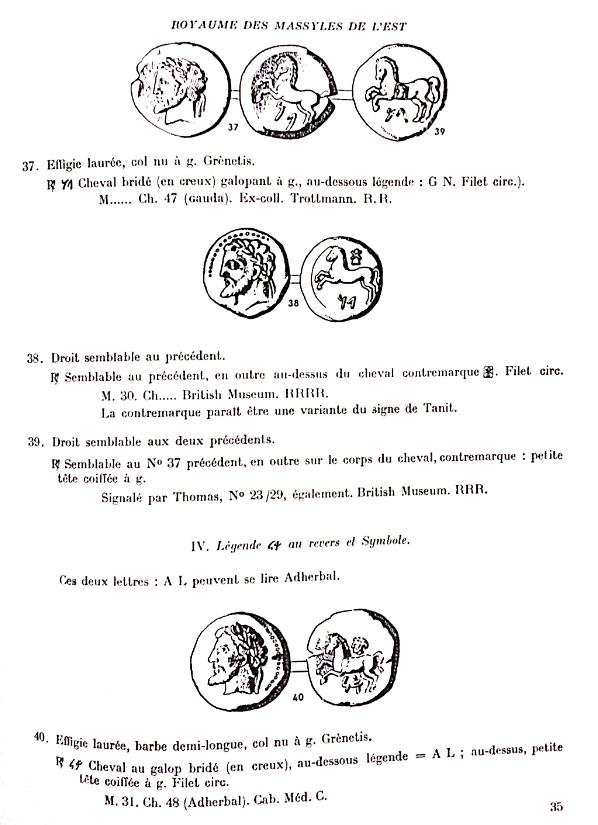 Unité de bronze numide Massinissa / Micipsa Img_9215