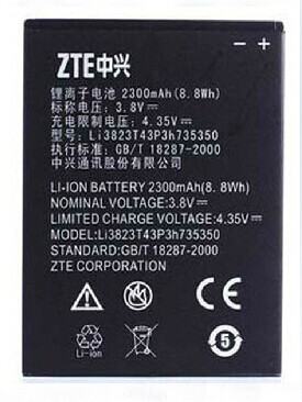 ZTE Grand X Z777 Battery Li3823T43P3H735350 ML-ZT018 Zt01810