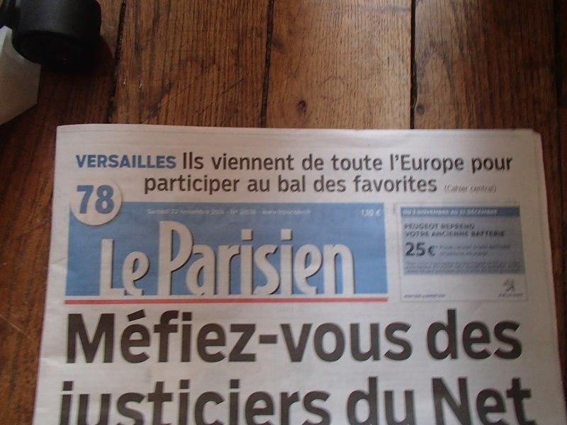 Presse du bal de Versailles - Page 5 Pb220010
