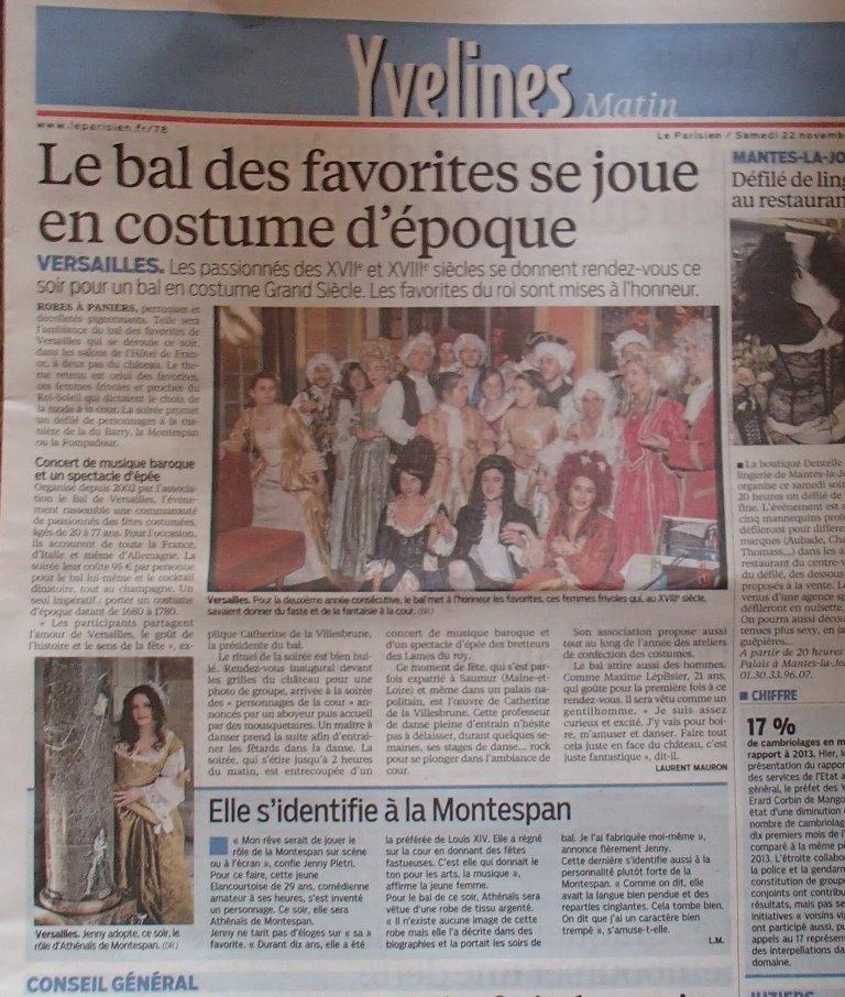 Presse du bal de Versailles - Page 5 Pb220011