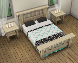 Спальни, кровати (модерн) Image239