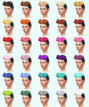 Женские прически (короткие волосы) Light176