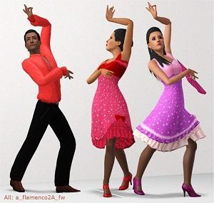 Танцевальные позы, пение - Страница 3 Light245