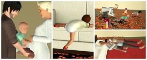 Детские позы, позы с детьми - Страница 7 Light252