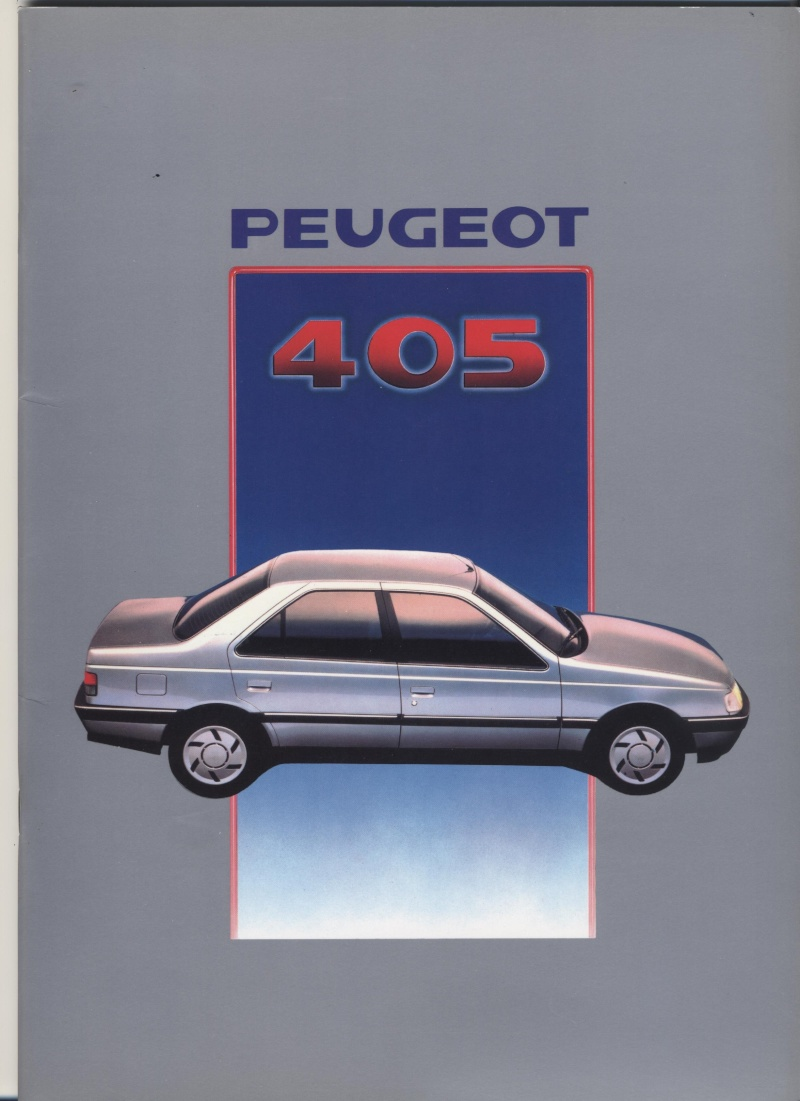 Brochure Peugeot 405  Brochu11