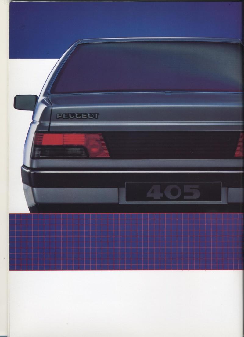 Brochure Peugeot 405  Brochu12