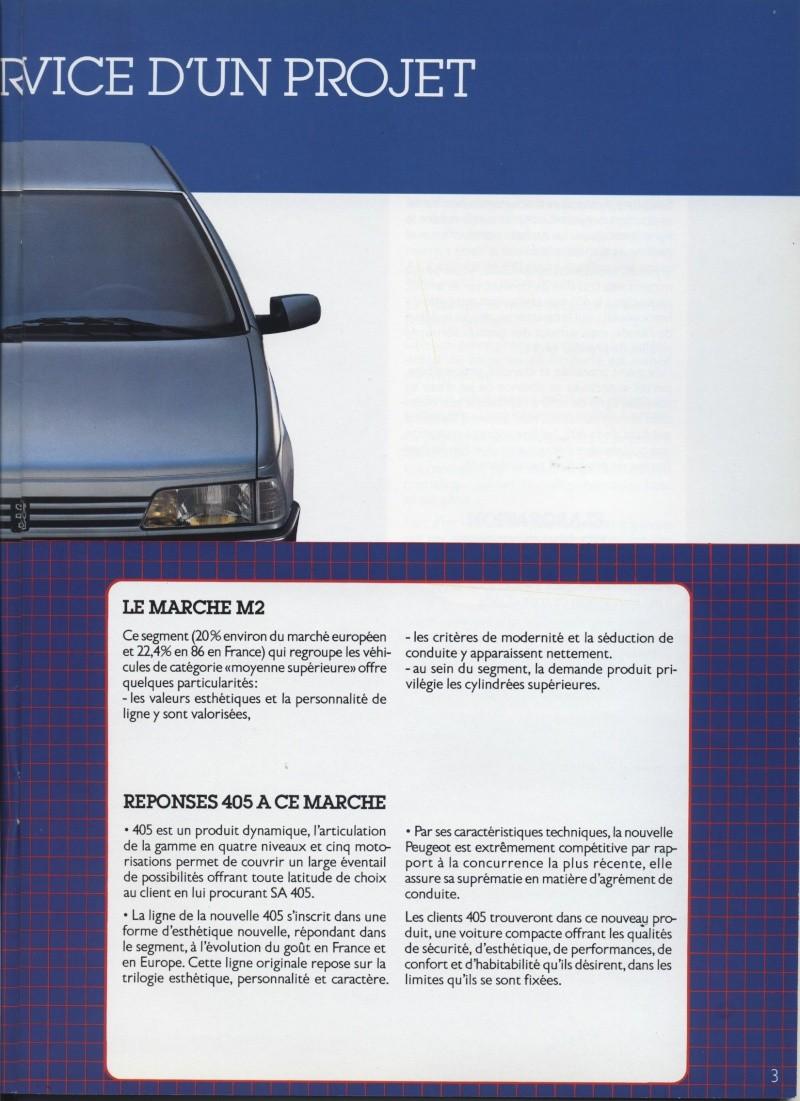 Brochure Peugeot 405  Brochu15