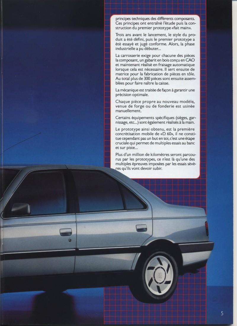 Brochure Peugeot 405  Brochu17