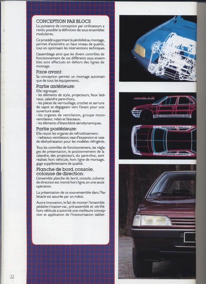 Brochure Peugeot 405  Brochu20
