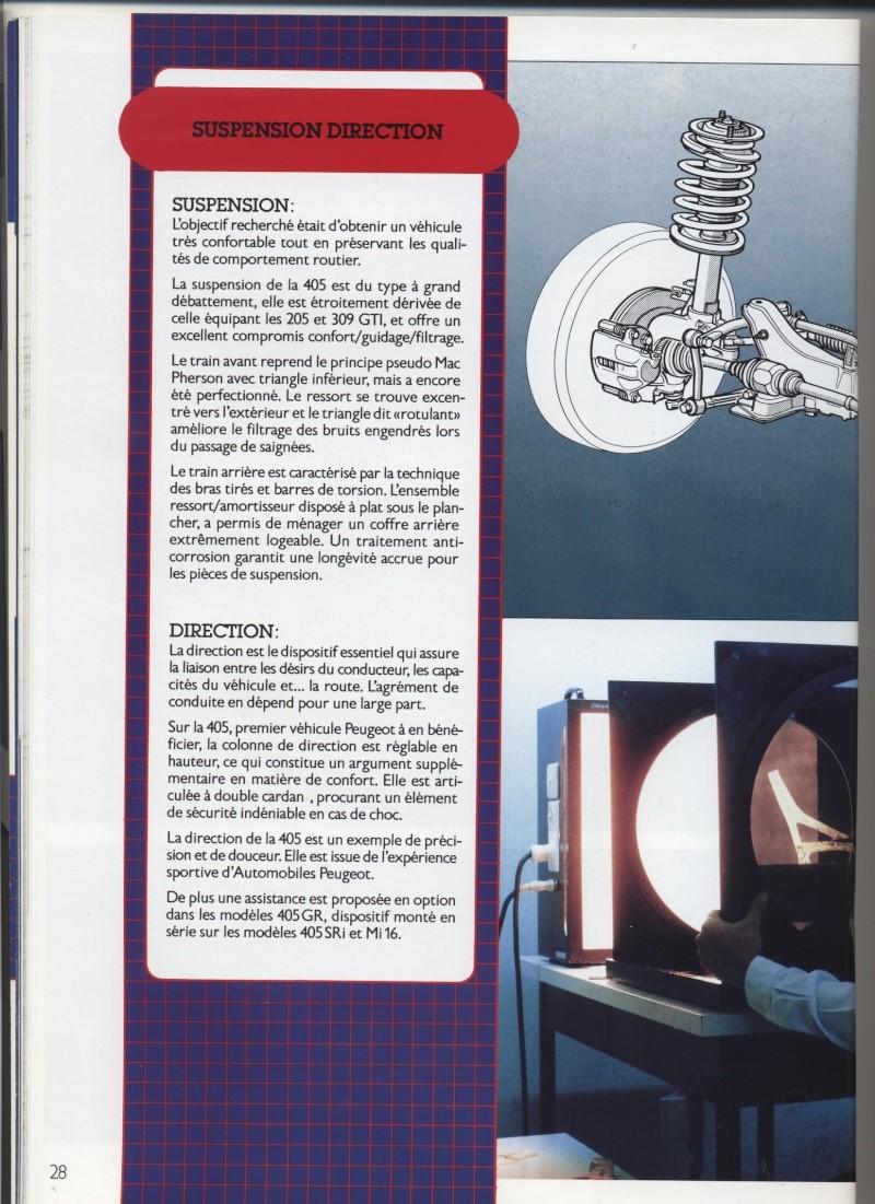 Brochure Peugeot 405  Brochu26