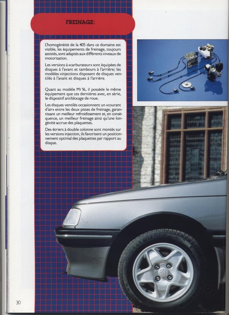Brochure Peugeot 405  Brochu28