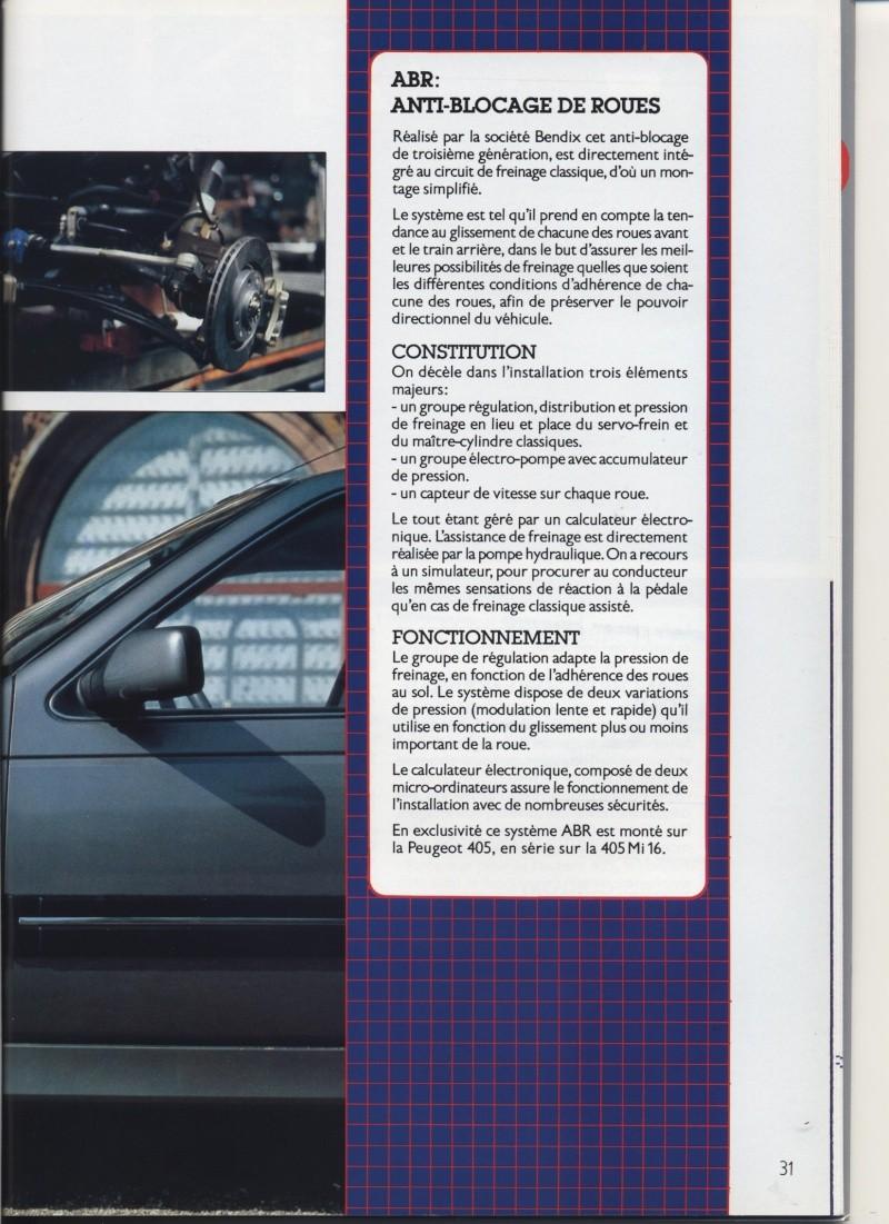 Brochure Peugeot 405  Brochu29