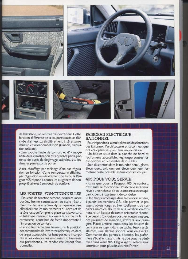 Brochure Peugeot 405  Brochu31