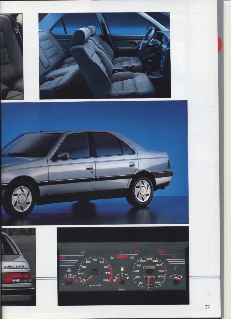 Brochure Peugeot 405  Brochu35