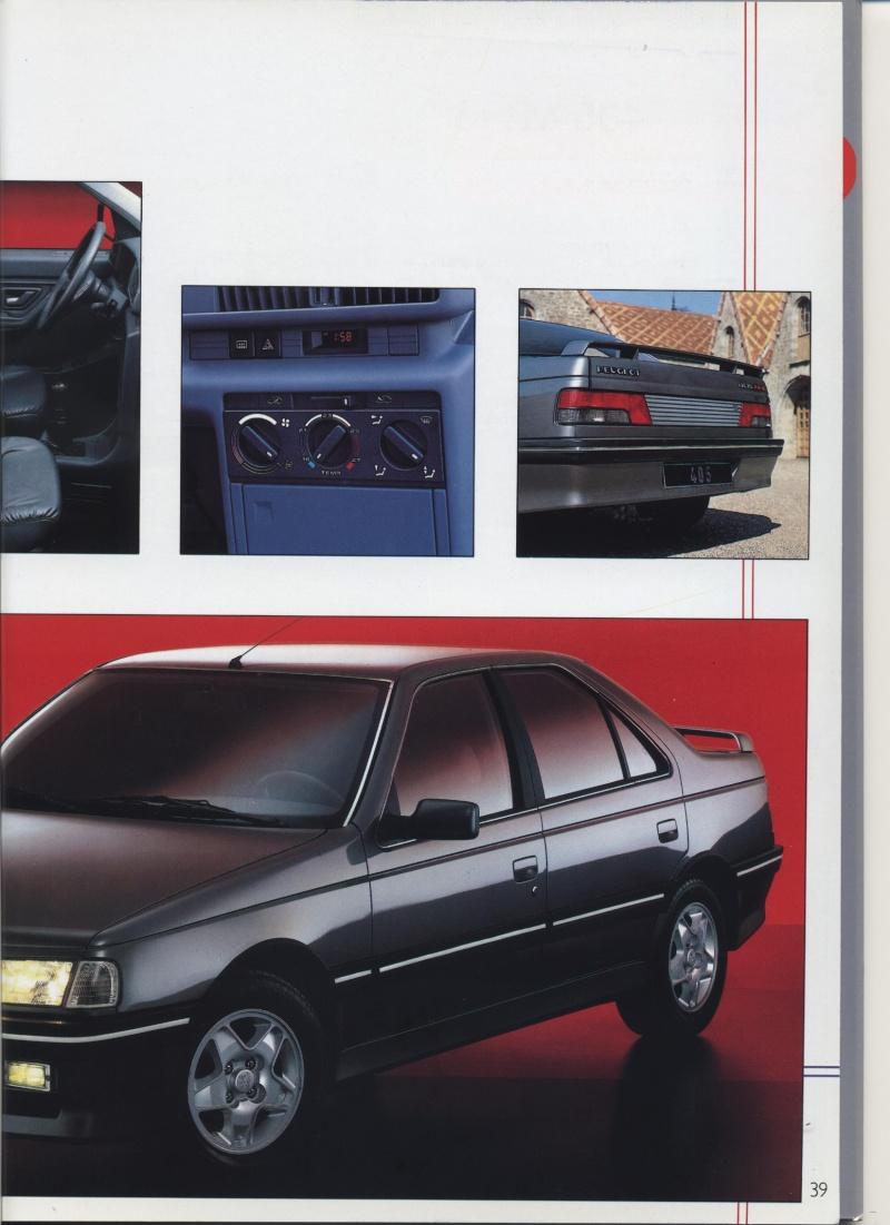 Brochure Peugeot 405  Brochu37