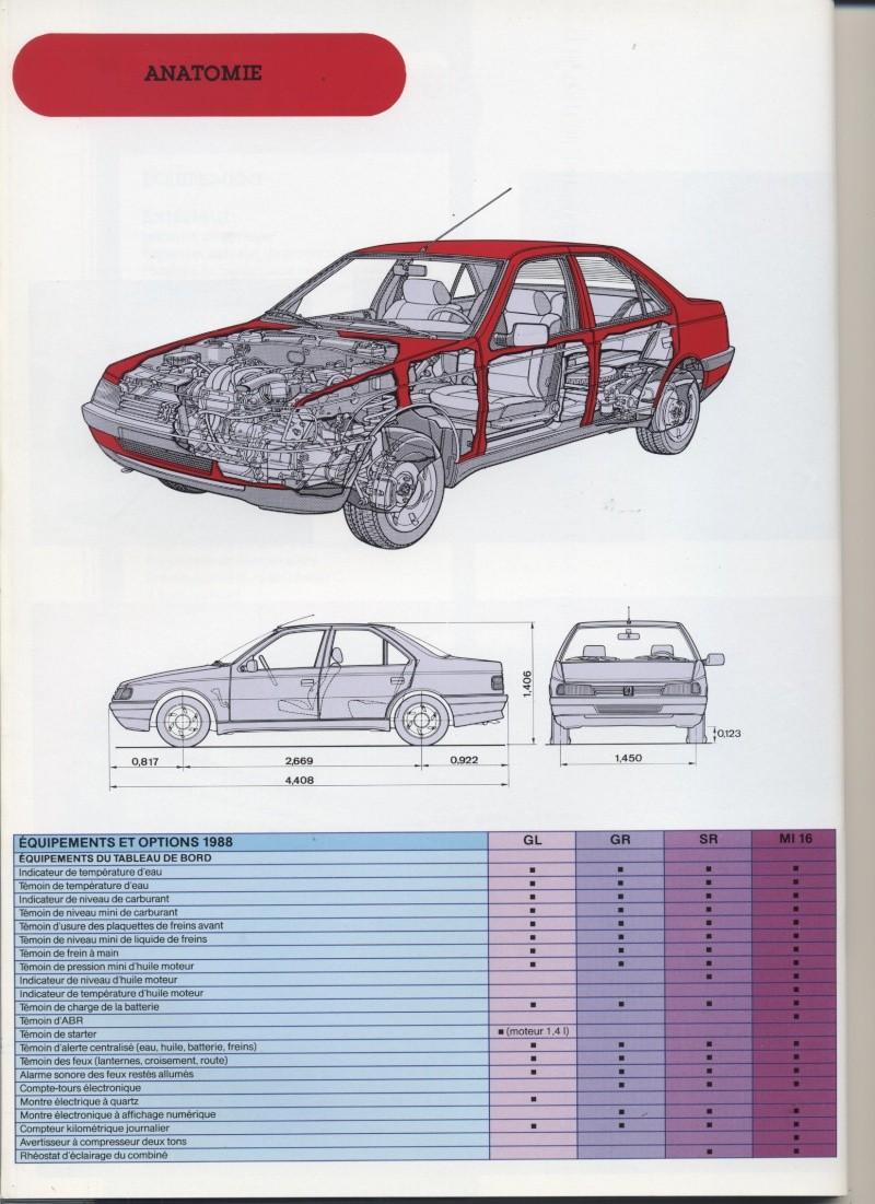 Brochure Peugeot 405  Brochu38