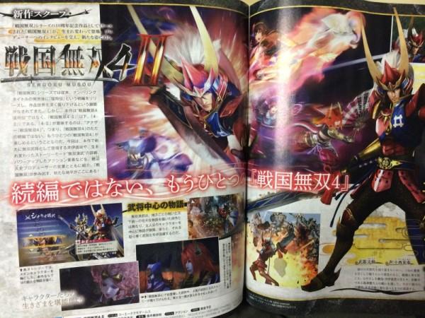 Samurai Warriors 4-II annoncé ! Sengok10