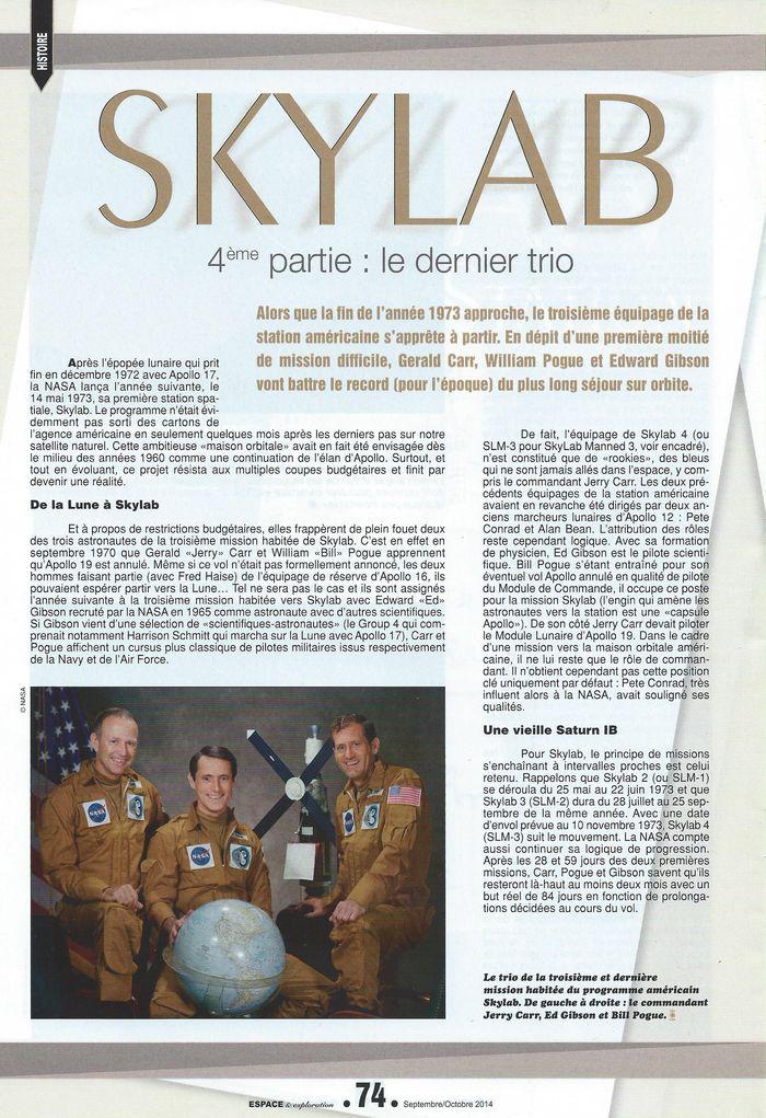 14 mai 1973 - Skylab - Seule station spatiale américaine - Page 2 14090010