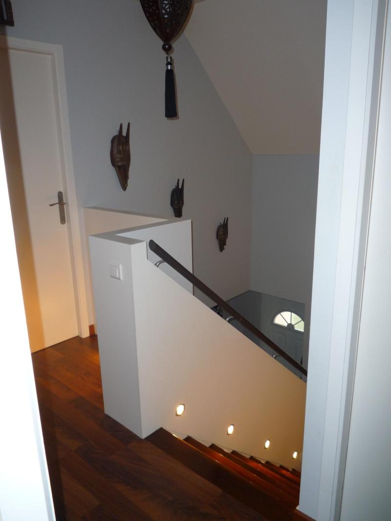 Escalier repeint et montée d'escalier relooke P1020010