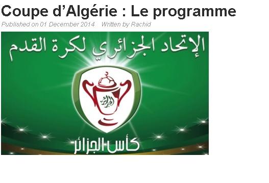 Coupe d'Algérie 2015 20141210