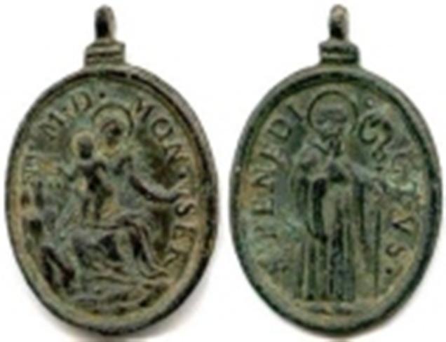 Médaille ND-de-Montserrat - fin XVII/début XVIIIème 36781r11