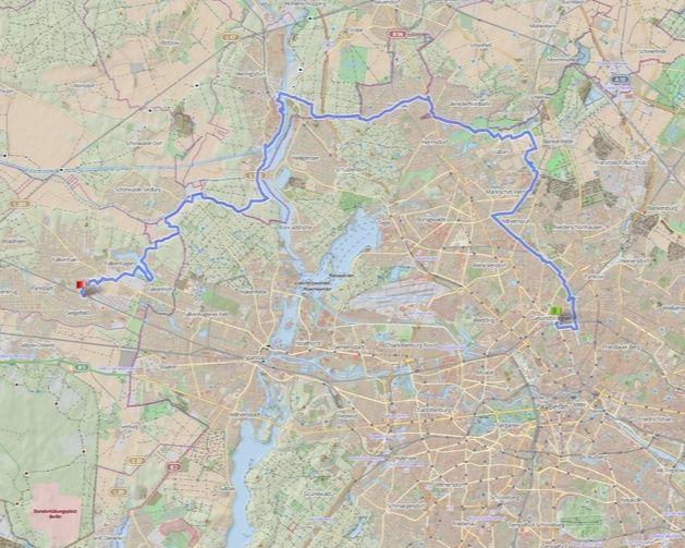 Berliner Polarnacht, 100 / 50 km : 09-10janvier 2015  Berlin12