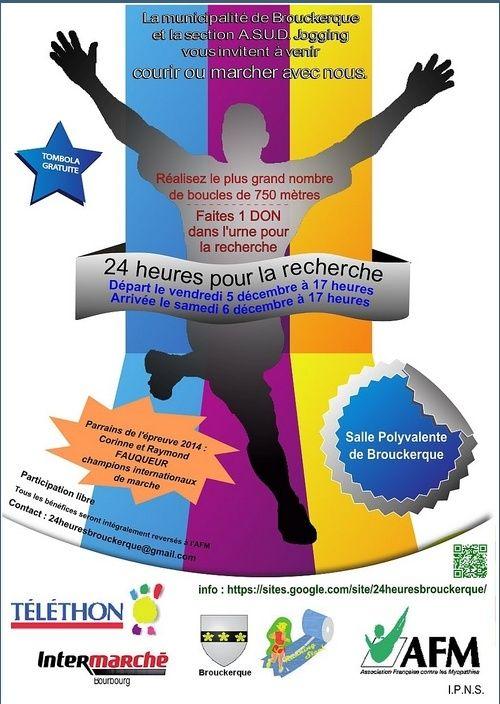 Téléthon: 24 heures de Brouckerque (59): 5-6/12/2014 Brouck10