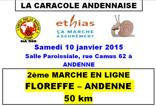 50km en ligne: Floreffe-Andenne (B): 10 janvier 2015 Floref10