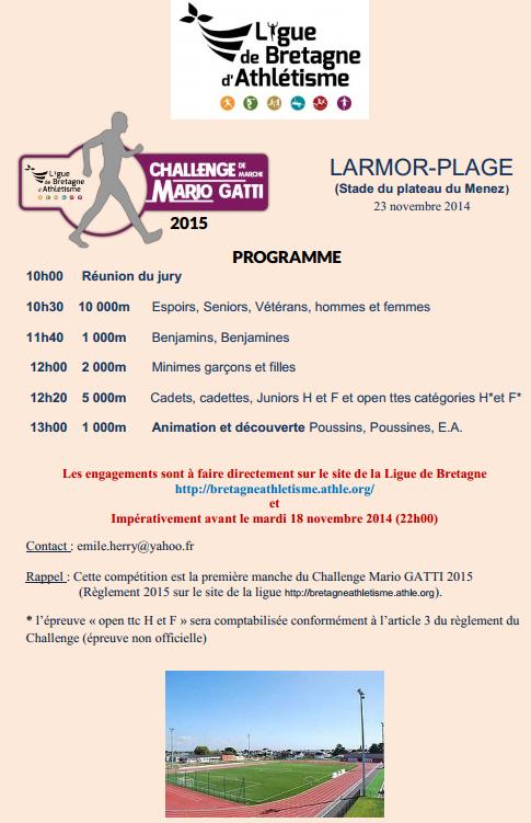 Larmor-Plage (56): 10.000, 5000, etc.: 23/11/2014 Larmor10