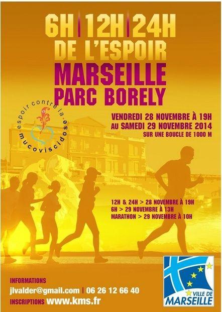 Téléthon: 6-12-24h de Marseille (13): 28-29/11/2014 Marsei11