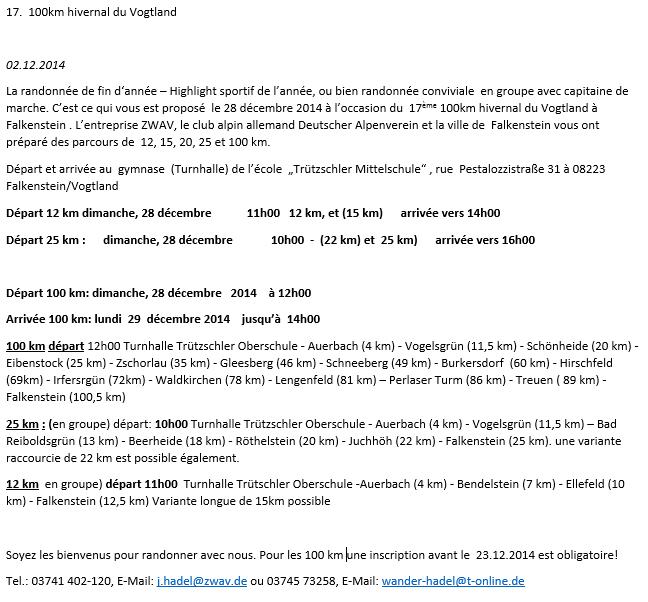 100km hivernal du Vogtland (D): 28-29 décembre 2014 Vogtla10