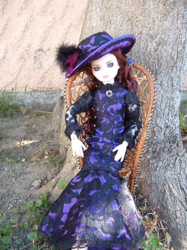 Liz, la weeping violets de Léonie Dscf0013