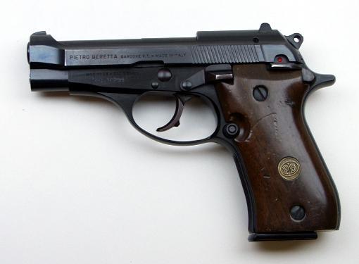 pistolet calibre 7.65 Berett10