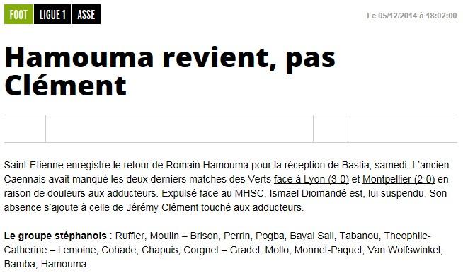 J17 / Jeu des pronos - Prono St Etienne-Bastia S59