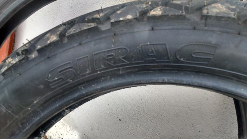 [VENDU] 1 jeu de pneus sirac Sirac210