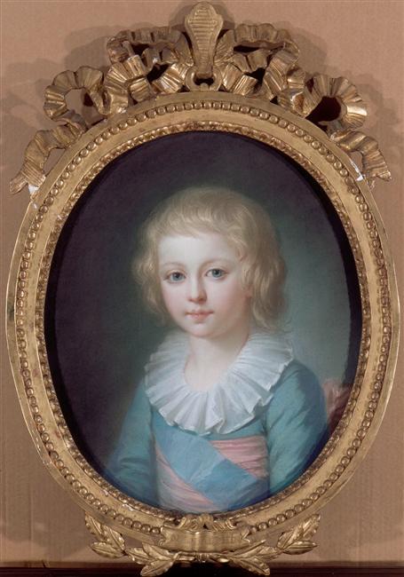 Le physique des enfants de Louis XVI et Marie-Antoinette 96-02110