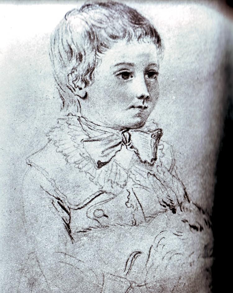 Le physique des enfants de Louis XVI et Marie-Antoinette Dessin11