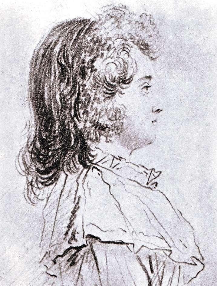 Portraits des dauphins Louis-Joseph ou Louis-Charles ? Dessin13