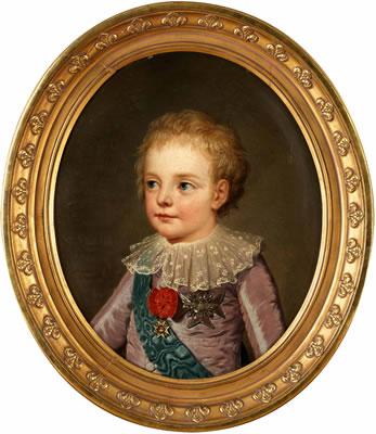 Le physique des enfants de Louis XVI et Marie-Antoinette Louis-11