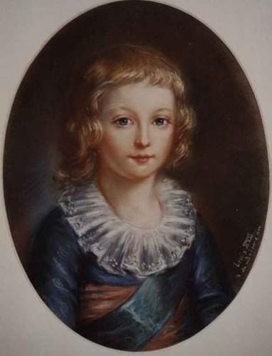 Le physique des enfants de Louis XVI et Marie-Antoinette M-loui10