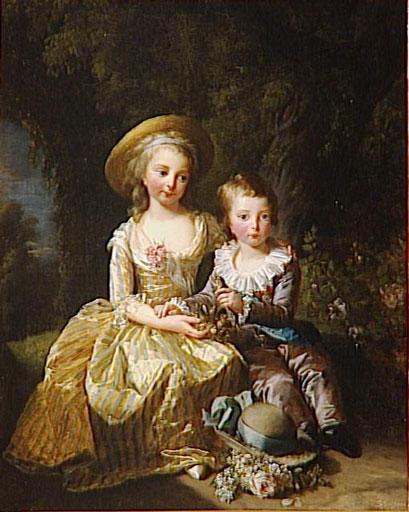 Le physique des enfants de Louis XVI et Marie-Antoinette M5020010
