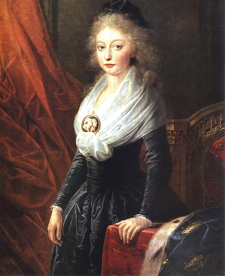 Le physique des enfants de Louis XVI et Marie-Antoinette Mariag10