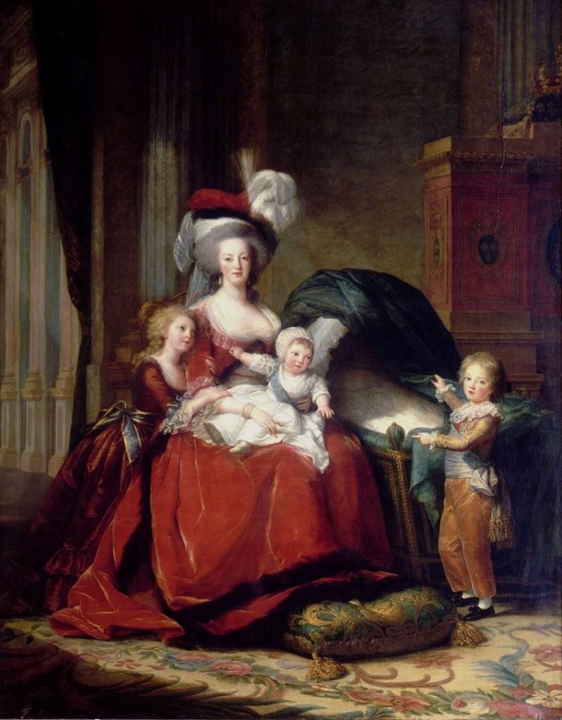 Le physique des enfants de Louis XVI et Marie-Antoinette Portra10
